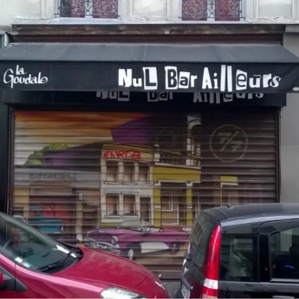 nul bar ailleurs par victor rue de cotte paris bris de mots brisdemots bdm. Black Bedroom Furniture Sets. Home Design Ideas